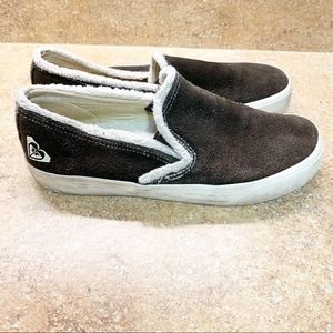 Roxy Pepperdine Sherpa Slip on Women's Sneakers
